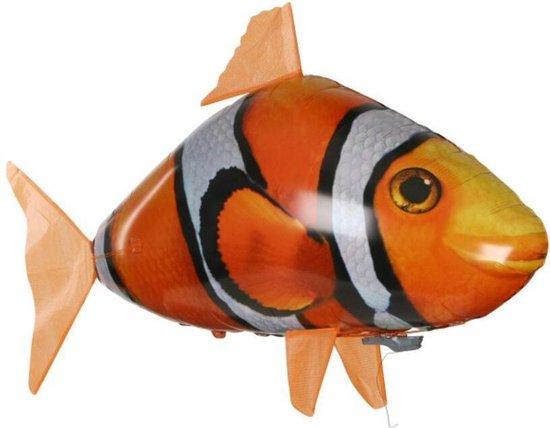 Bestuurbare Vliegende Nemo Clownvis - Air Swimmer anemoonvis - Helium vis voor kinderen