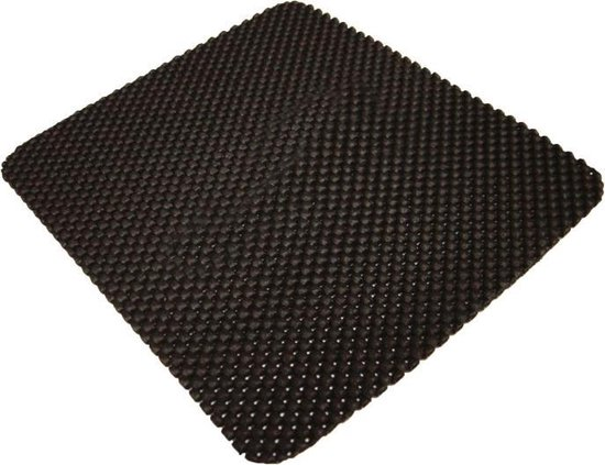 Hypersonic Universele Anti-slip mat 'Budget' 195x225mm - Zwart