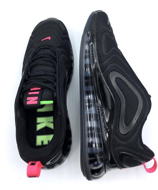 Nike Air Max 720 Big Logos CQ4614 001 Heren Sneakers Sportschoenen Schoenen Special Edition Zwart Maat EU 42 US 8.5