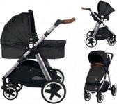 Ding Joyce Kinderwagen 3-in-1 - Met Autostoel - Zwart