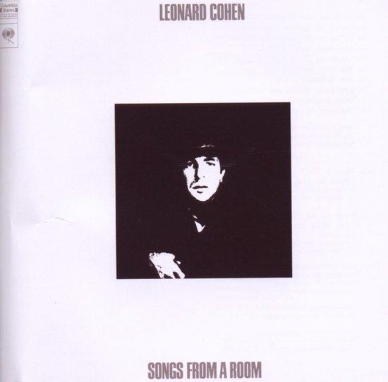 CD cover van Songs From A Room van Leonard Cohen