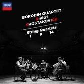 String Quartets Nos.1, 8 & 14