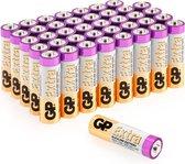 GP Extra Alkaline batterijen AA mignon penlite LR06 batterij 1.5V – 40 stuks AA batterijen