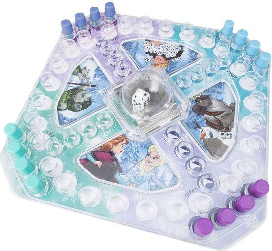 Afbeelding van het spel Disney Frozen mini bordspel ludo
