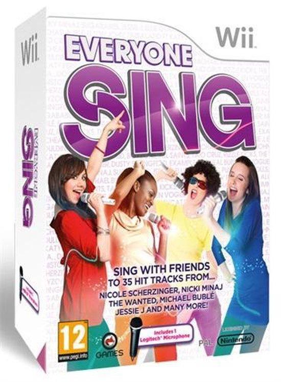 Everyone Sing + 1 Microfoon