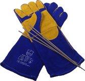 Lashandschoenen - Hittebestendig - Lashandschoen - Welding gloves - Kevlar gestikte lashandschoenen - Handschoenen voor lassen met beklede elektrode