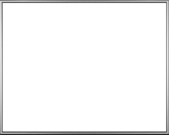 Homedecoration Montreal – Fotolijst – Fotomaat – 44 x 64 cm – Zilver