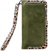 Mobilize 2in1 Wallet Zipper Case Olive Leopard iPhone 8 Plus / 7 Plus / 6S plus / 6 Plus