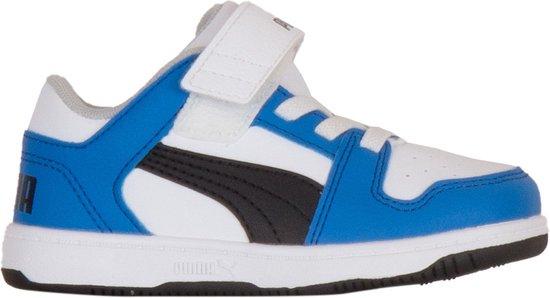 bol.com | Puma Sneakers - Maat 25 - Unisex - blauw/wit/zwart
