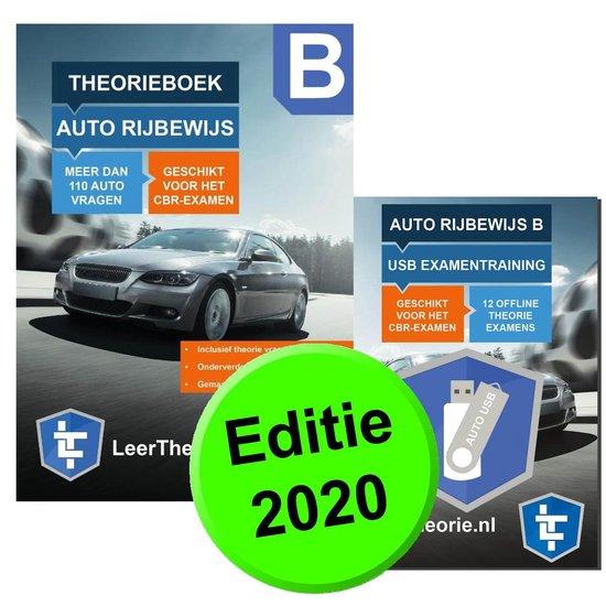 Afbeelding van Auto Theorieboek 2020 Rijbewijs B + USB Stick Theorie-Examens