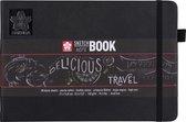 Sakura schets/notitieboek - A5 - zwart