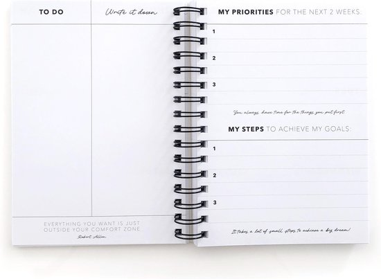 A5 PLANNER Leopard Brown  |  Planning  |  Planner  |  Weekly Planner