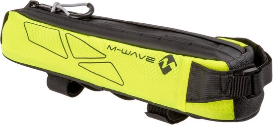 M-wave Frametas Rough Ride Top 0,75 Liter Zwart/geel