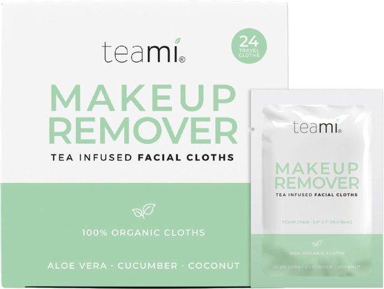 Teami Organic Makeup Remover Cloths
