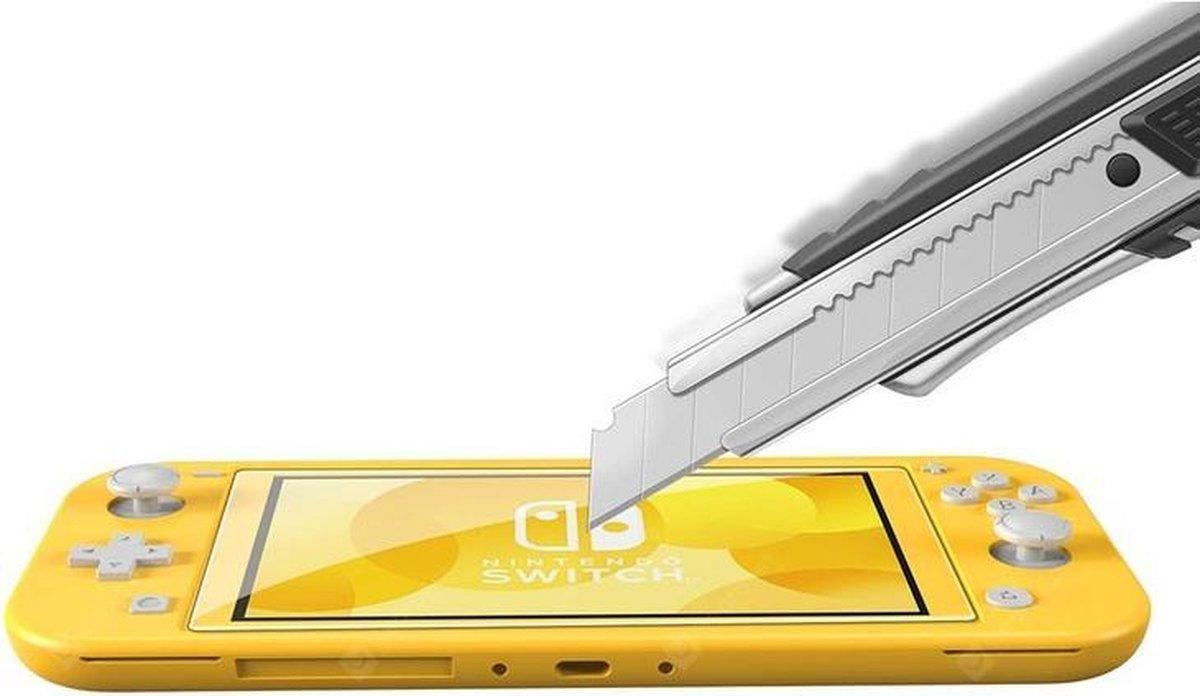 Nintendo Switch Lite Screen Protector 9H Gehard Glas - Screen Protector - Transparant