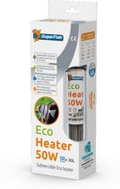 SuperFish Nano eco Heater - Aquarium - Verwarming - Tot 30 ltr - 50W - 17 cm
