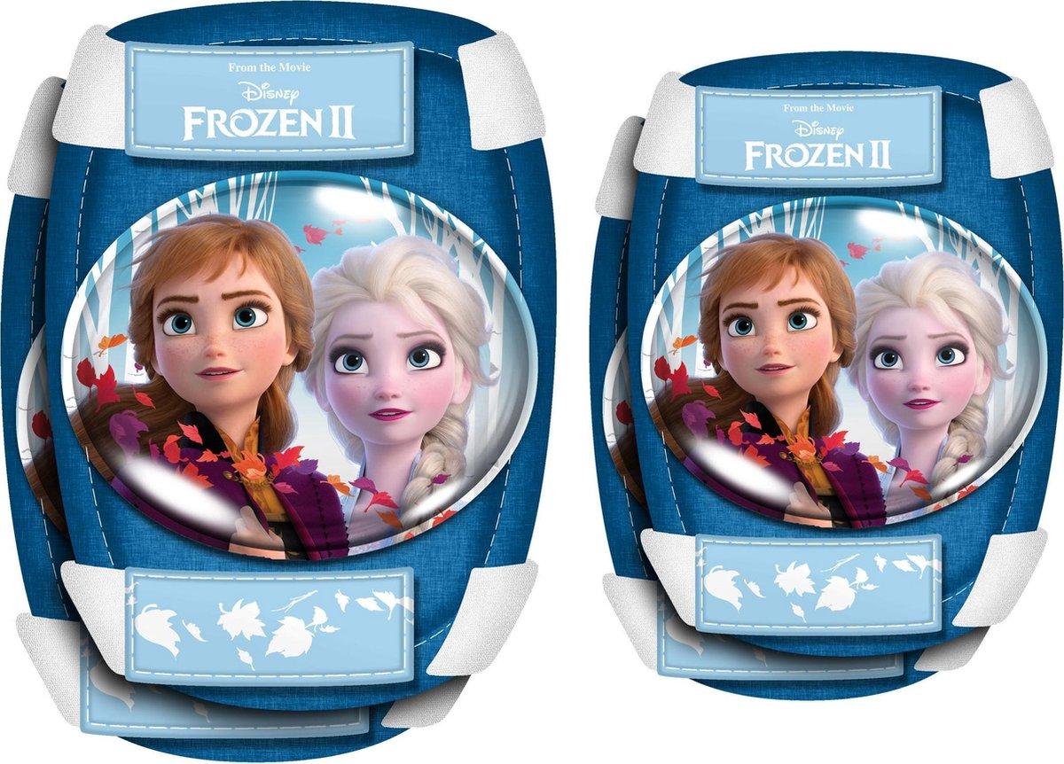 Disney Elleboog- En Kniebeschermers Frozen 2 Meisjes Blauw