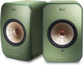 KEF LSX Wireless Stereo Speakers - Groen ( prijs per set )