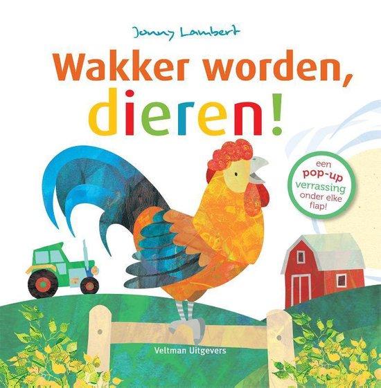Boek cover Wakker worden, dieren! van Jonny Lambert (Hardcover)