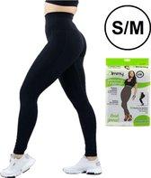 Thermo corrigerende legging  voor vrouwen, zwart, maat S