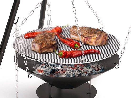 Barbecook Junko Driepoot Houtskoolbarbecue - Zwart