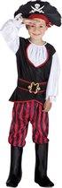 Kinderkostuum Piraat Tom - 4-6 jaar