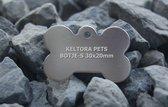 Keltora Pets Aluminium penning Botje Silver KPBNSI-S
