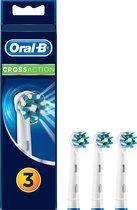 Oral-B CrossAction - 3 stuks - Opzetborstels