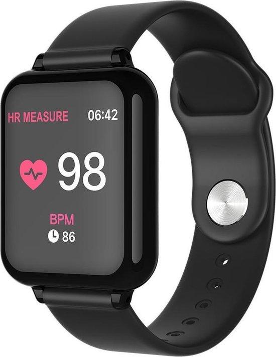 Bitween™ Streets - Smartwatch met hartslagmeter - One size - Zwart