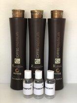 Honma Tokyo Coffee Premium Japanse Keratine Treatment 1 Behandeling 3x100 ml Shampoo&Treatment&Masker