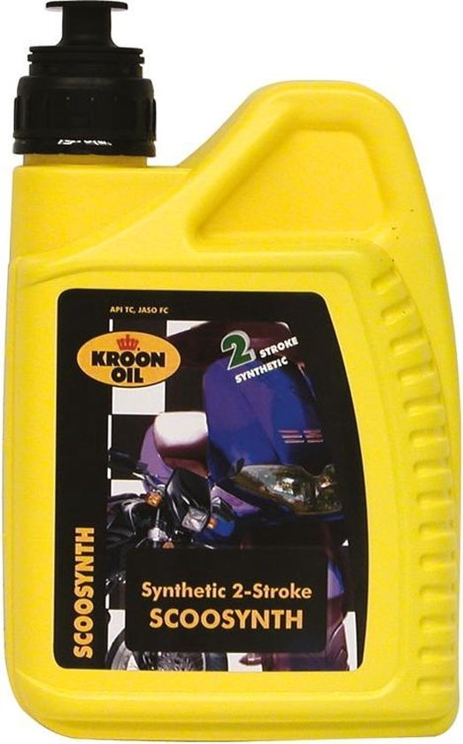 Kroon Oil 2-takt Motorolie Semi-synthetisch Scoosynth1 Liter