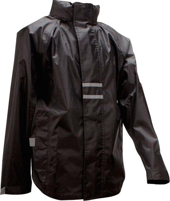 Ralka Regenjas - Volwassenen - Unisex - Zwart