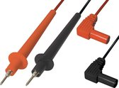 Transmedia Test kabels voor multimeters - haaks - 0,90 meter