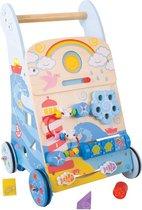 Bigjigs Baby - Activiteiten Loopwagen 'Zee'