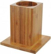 Bamboo bedverhogers / Stoelverhogers 14 cm (4st)