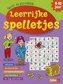 Afbeelding van het spelletje Speel- en puzzelblok Leerrijke spelletjes 8-10 jaar
