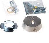 Intersteel veiligheidrozet - RVS - SKG3*** met kerntrekbeveiliging - voor oplegsloten - 0035.375599