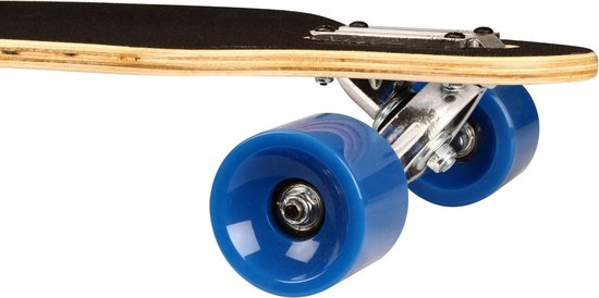 "Black Dragon Longboard 36"" Drop-through - Jungle Fever - Wit/Grijs/Blauw"