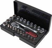 KS Tools Ratelsleutel. doppen en bit set 1/4'' 26-delig 917.0626