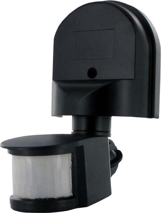 Smartwares ES90 Wand Bewegingsmelder 180 ° Relais Zwart IP44