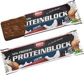 Best Body Nutrition Hardcore Protein Block - Eiwitrepen - 1 box - Chocolade