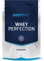 Body & Fit Whey Perfection - Whey Protein / Proteine Shake - 750 gram - Aardbei