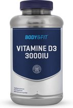 Body & Fit Vitamine D3 - 300OIU - Vitamine en Mineralen / Vitamine D3 - 180 Capsules - 1 Verpakking