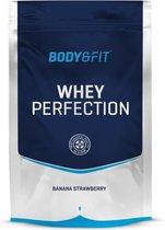 Body & Fit Whey Perfection - Whey Protein / Proteine Shake - 750 gram - Banaan & Aardbei