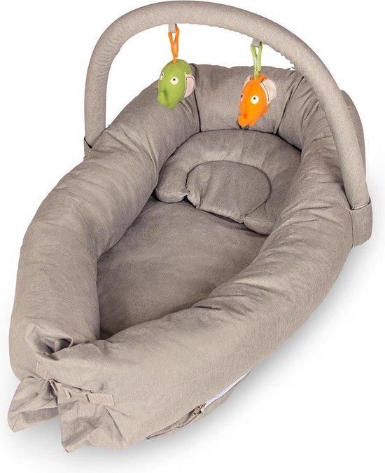 Product: Baninni Babynest Maminto met speelboog Sand, van het merk Baninni