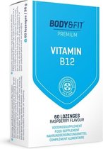 Body & Fit Vitamine B12 Zuigtabletten- 1000 mcg per tablet - 60 zuigtabletten