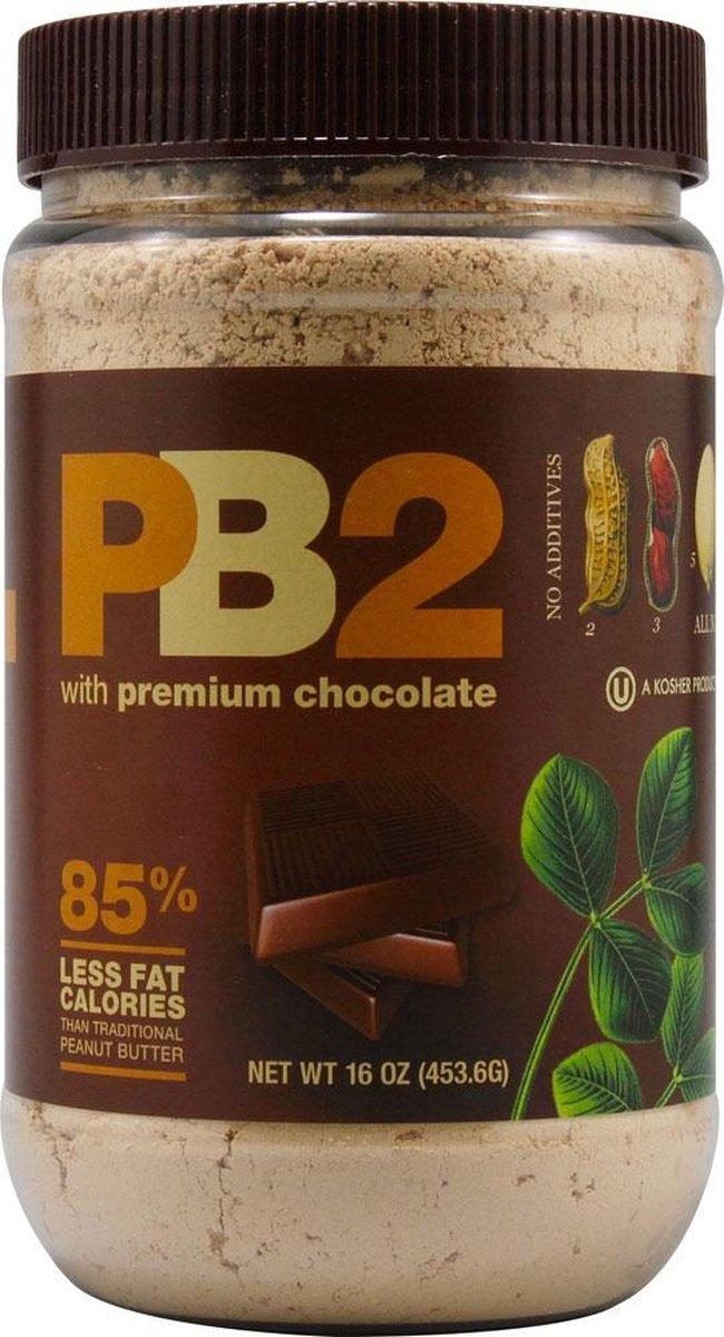 Bell plantation Pindakaas poeder PB2 453 gram Chocolate Powdered Peanut Butter
