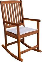 vidaXL Tuinschommelstoel acaciahout