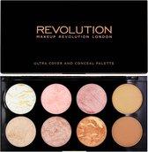 MAKEUP REVOLUTION Ultra Blush Palette Golden Sugar, 13 g