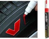 Simoni Racing Bandenstift (Tyre Marker) - Rood